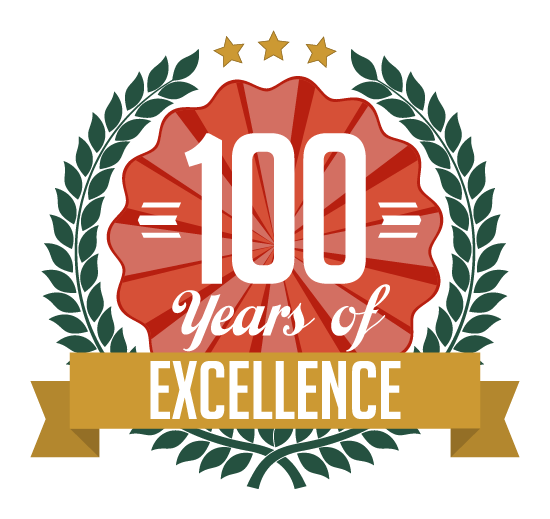 100 Years Badge